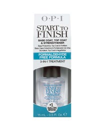 Start-To-Finish Basecoat & Top Coat Nail Strengthener .5 oz.