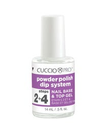 Powder Polish Dip  System Step 2 + 4 _ Nail Base & Top Gel .5 oz.