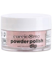 Powder Polish Dark Red Glitter .5 oz.