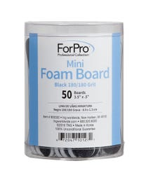 ForPro Black Mini Foam Boards 180/180 Grit 50-Count